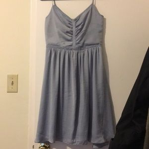 Banana republic silky fit and flare dress